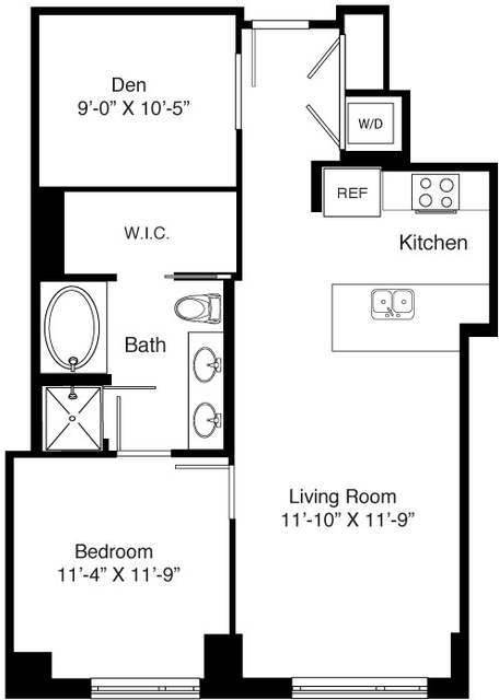 1 Bedroom, Seaport District Rental in Boston, MA for $3,960 - Photo 2