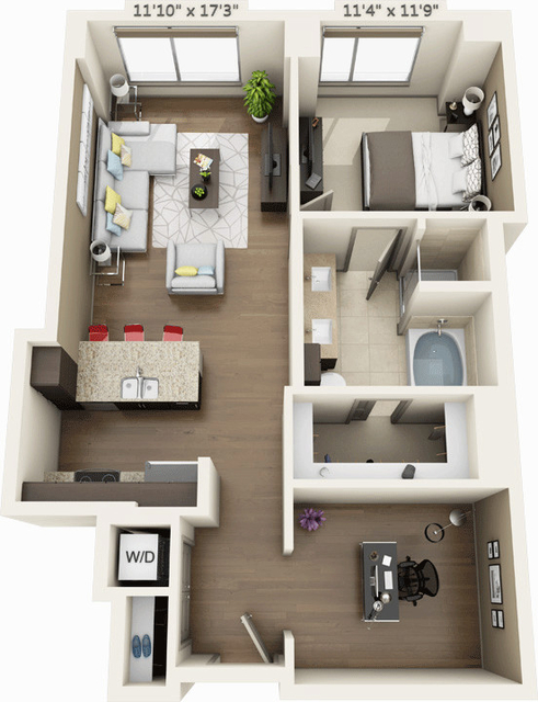 1 Bedroom, Seaport District Rental in Boston, MA for $3,960 - Photo 1