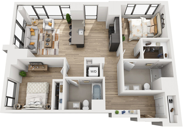 2 Bedrooms, Shawmut Rental in Boston, MA for $5,199 - Photo 1