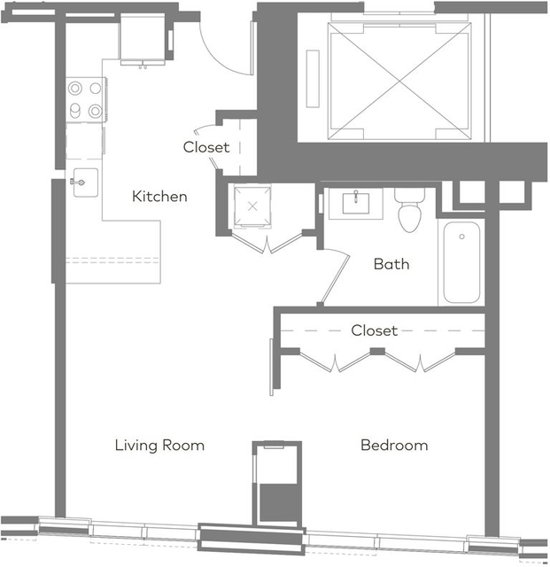 1 Bedroom, West Fens Rental in Boston, MA for $4,322 - Photo 1