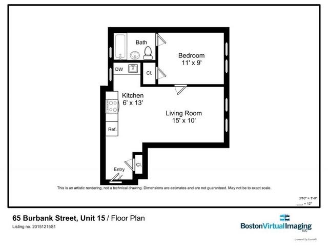 1 Bedroom, Fenway Rental in Boston, MA for $2,500 - Photo 2