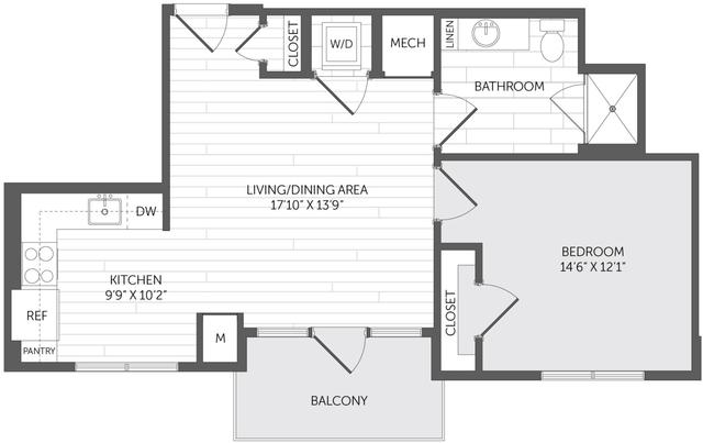 1 Bedroom, Marina Bay Rental in Boston, MA for $3,066 - Photo 1