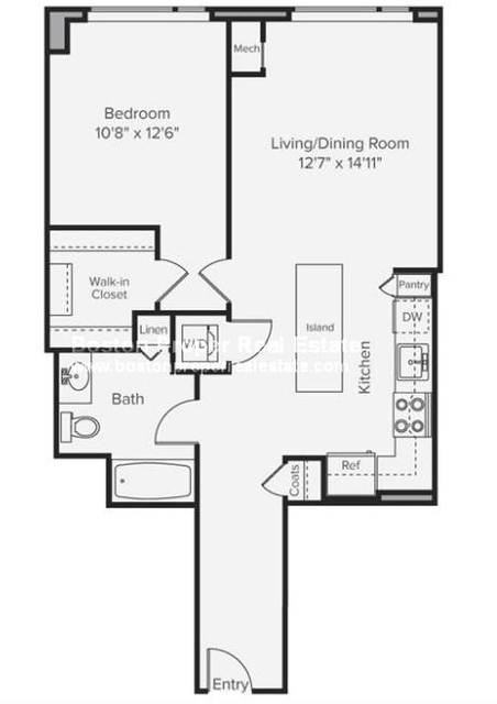 1 Bedroom, Prudential - St. Botolph Rental in Boston, MA for $4,887 - Photo 2
