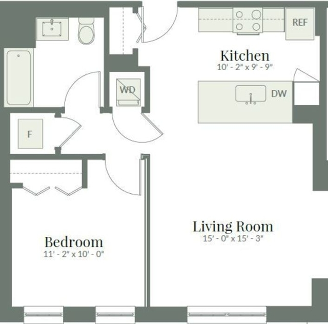 1 Bedroom, Lathrop Rental in Chicago, IL for $1,690 - Photo 2