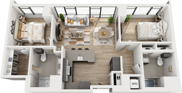 2 Bedrooms, Shawmut Rental in Boston, MA for $4,898 - Photo 1