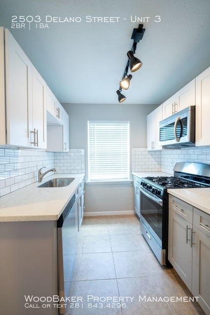 2 Bedrooms, Greater Third Ward Rental in Houston for $949 - Photo 2