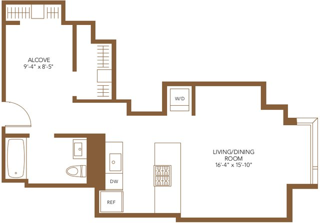 Studio, The Loop Rental in Chicago, IL for $1,995 - Photo 2