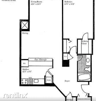 1 Bedroom, West End Rental in Washington, DC for $2,850 - Photo 2