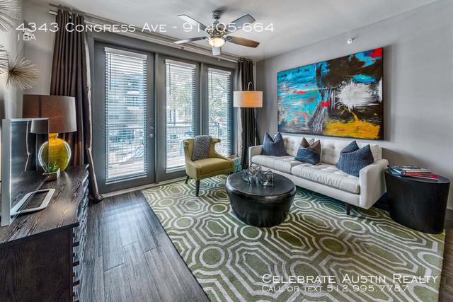 Studio, Lovers Lane Rental in Dallas for $1,338 - Photo 2