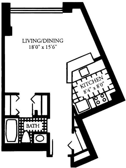 Studio, Malden Center Rental in Boston, MA for $1,960 - Photo 1