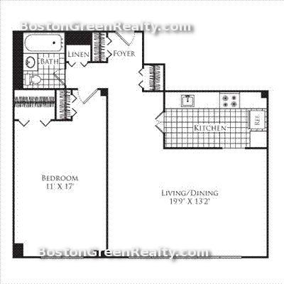 1 Bedroom, Neighborhood Nine Rental in Boston, MA for $2,385 - Photo 1