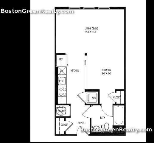 2 Bedrooms, Central Maverick Square - Paris Street Rental in Boston, MA for $4,995 - Photo 2