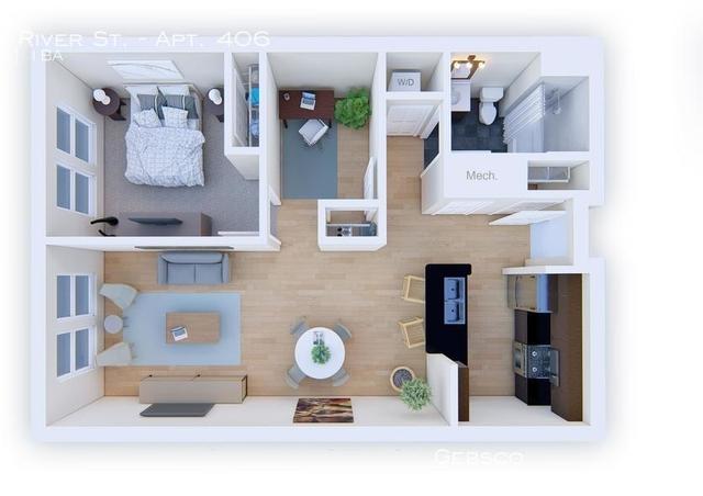 1 Bedroom, West Codman Hill - West Lower Mills Rental in Boston, MA for $2,400 - Photo 2