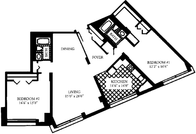 2 Bedrooms, Malden Center Rental in Boston, MA for $2,930 - Photo 1