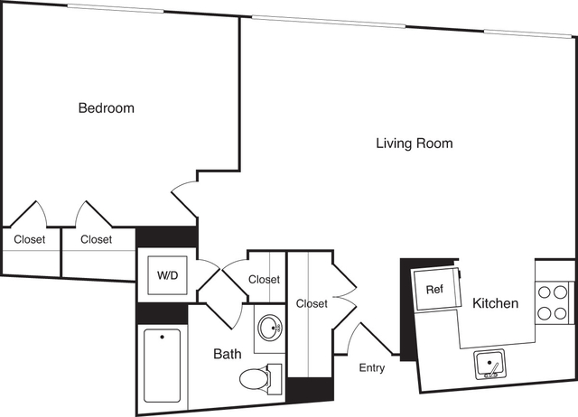 1 Bedroom, Financial District Rental in Boston, MA for $3,095 - Photo 2