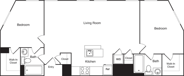 2 Bedrooms, Financial District Rental in Boston, MA for $4,155 - Photo 2