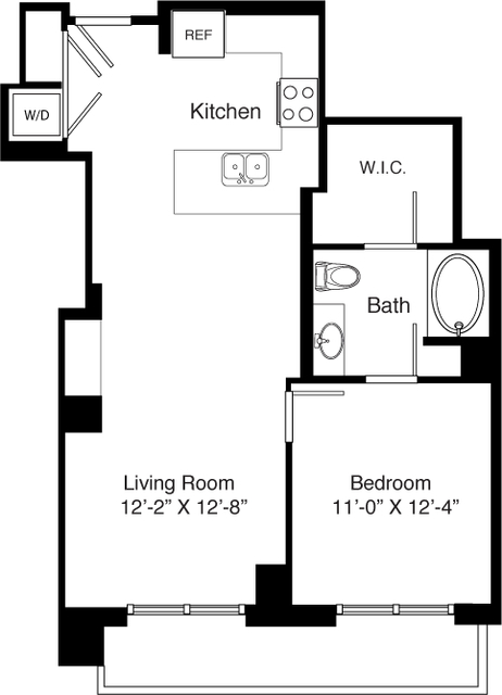 1 Bedroom, Seaport District Rental in Boston, MA for $4,040 - Photo 2