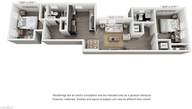 2 Bedrooms, University City Rental in Philadelphia, PA for $2,200 - Photo 1