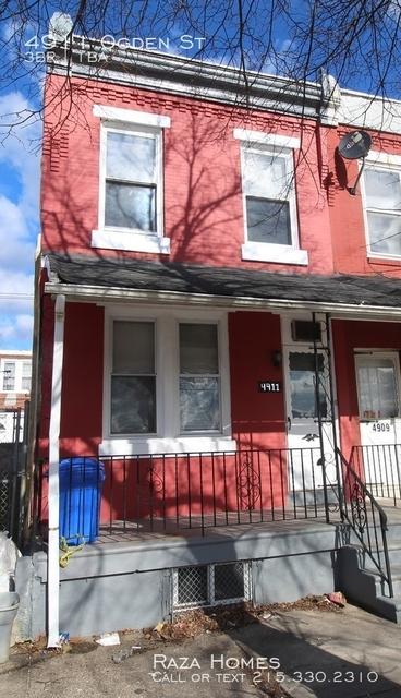 3 Bedrooms, Mill Creek Rental in Philadelphia, PA for $950 - Photo 1