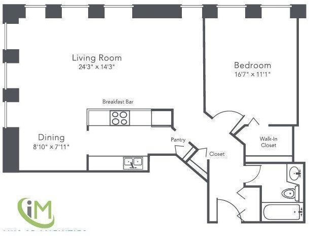 1 Bedroom, Gold Coast Rental in Chicago, IL for $2,750 - Photo 2
