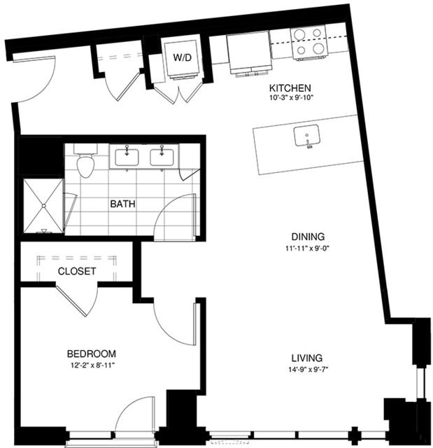 1 Bedroom, Shawmut Rental in Boston, MA for $4,052 - Photo 2