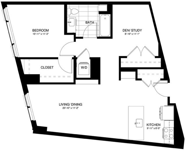 1 Bedroom, Shawmut Rental in Boston, MA for $4,728 - Photo 2