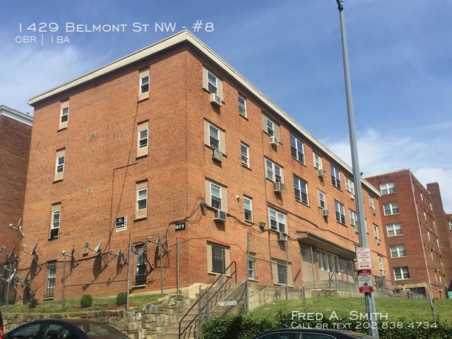 Studio, Columbia Heights Rental in Washington, DC for $1,250 - Photo 1