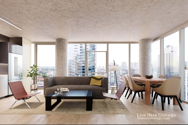 2 Bedrooms, River North Rental in Chicago, IL for $3,747 - Photo 1