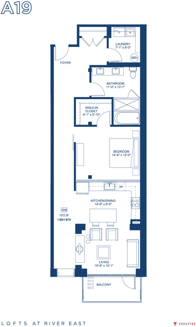 1 Bedroom, Streeterville Rental in Chicago, IL for $3,055 - Photo 1