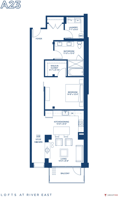 1 Bedroom, Streeterville Rental in Chicago, IL for $3,140 - Photo 1
