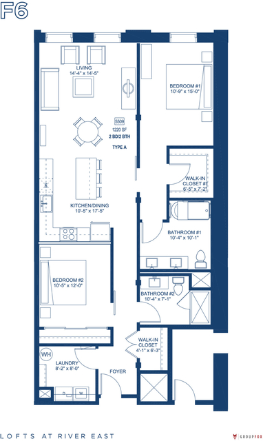 2 Bedrooms, Streeterville Rental in Chicago, IL for $4,235 - Photo 1