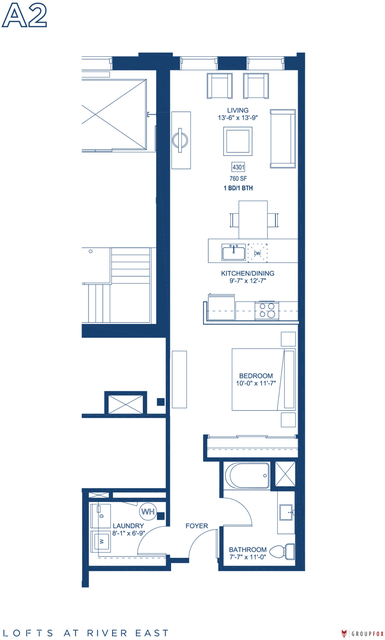 Studio, Streeterville Rental in Chicago, IL for $2,515 - Photo 1