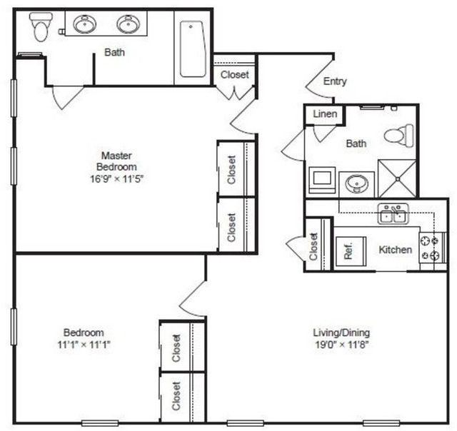 2 Bedrooms, Gold Coast Rental in Chicago, IL for $4,729 - Photo 2