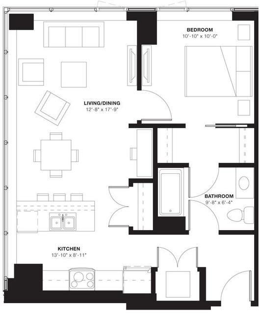 1 Bedroom, Evanston Rental in Chicago, IL for $2,206 - Photo 1