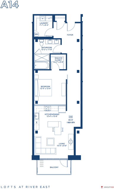 1 Bedroom, Streeterville Rental in Chicago, IL for $2,935 - Photo 1