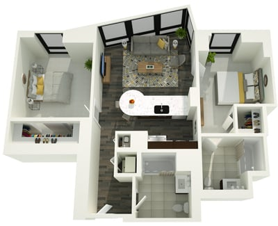 2 Bedrooms, The Loop Rental in Chicago, IL for $3,758 - Photo 1