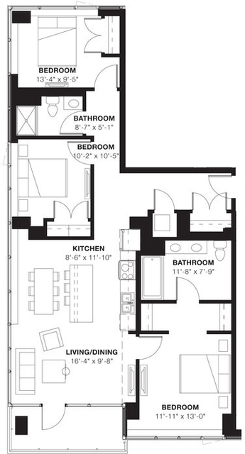 3 Bedrooms, Evanston Rental in Chicago, IL for $3,960 - Photo 1