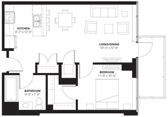1 Bedroom, Evanston Rental in Chicago, IL for $2,281 - Photo 1