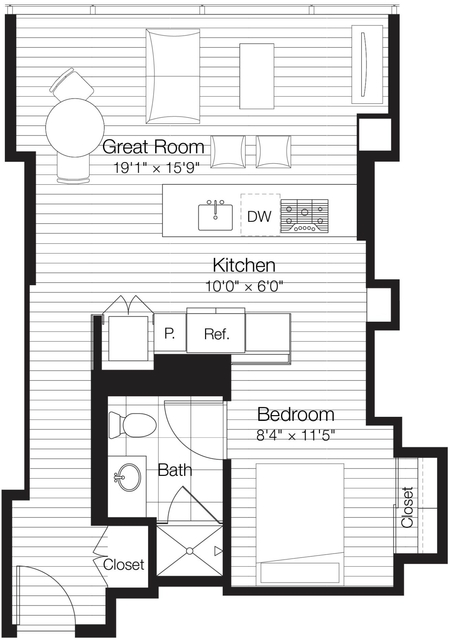 Studio, Streeterville Rental in Chicago, IL for $2,475 - Photo 1