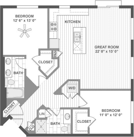 2 Bedrooms, Evanston Rental in Chicago, IL for $3,211 - Photo 1