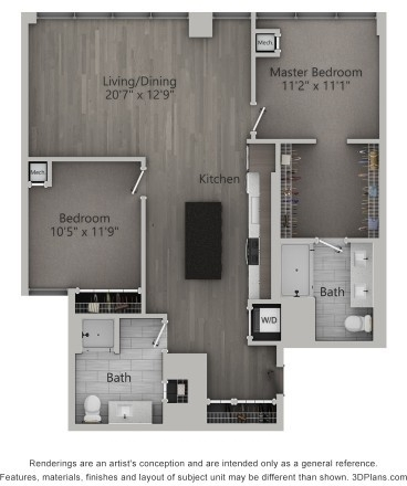 2 Bedrooms, Fulton Market Rental in Chicago, IL for $3,639 - Photo 1