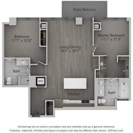 2 Bedrooms, Fulton Market Rental in Chicago, IL for $3,810 - Photo 1
