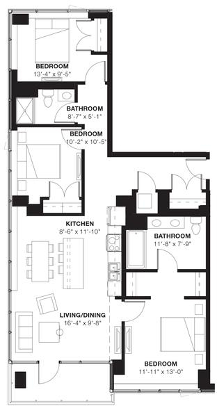 3 Bedrooms, Evanston Rental in Chicago, IL for $4,571 - Photo 1