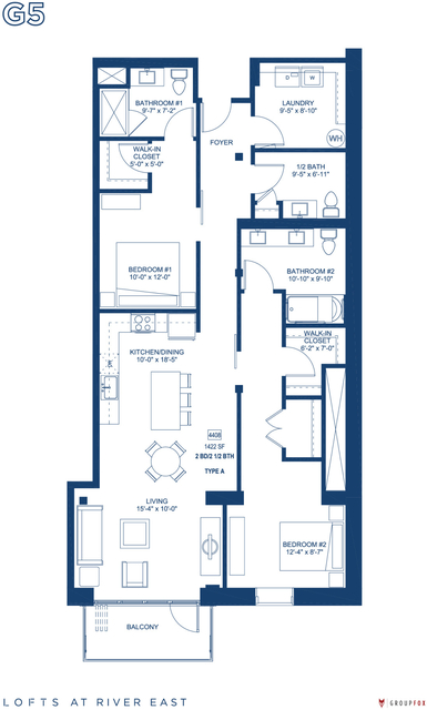 2 Bedrooms, Streeterville Rental in Chicago, IL for $4,615 - Photo 1