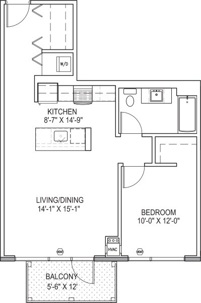 1 Bedroom, South Loop Rental in Chicago, IL for $2,098 - Photo 2