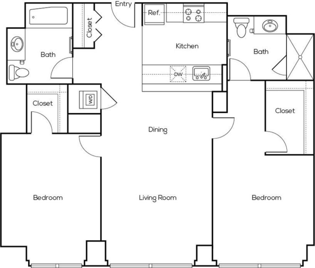 2 Bedrooms, Greektown Rental in Chicago, IL for $3,761 - Photo 2