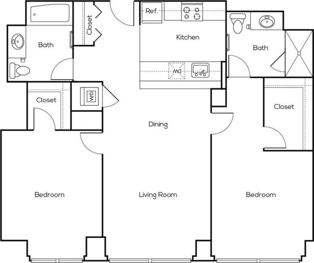2 Bedrooms, Greektown Rental in Chicago, IL for $4,050 - Photo 2