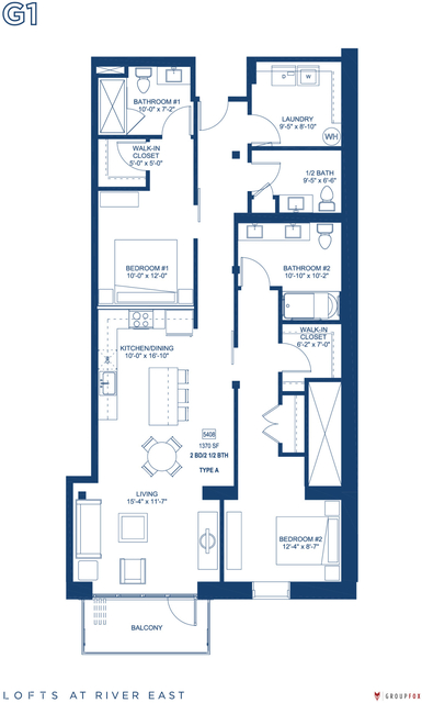 2 Bedrooms, Streeterville Rental in Chicago, IL for $4,605 - Photo 1