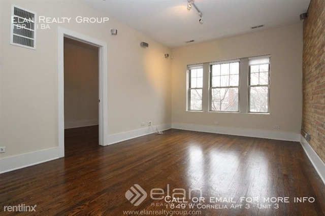 1 Bedroom, Roscoe Village Rental in Chicago, IL for $1,750 - Photo 1