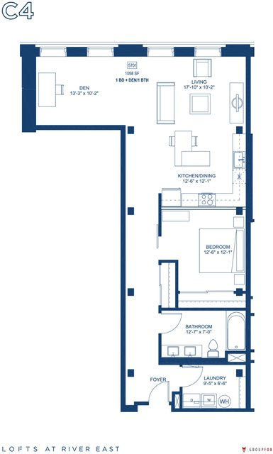 1 Bedroom, Streeterville Rental in Chicago, IL for $3,215 - Photo 1